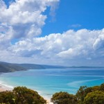 Coastal views of Lorne